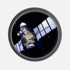Military satellite Wall Clock