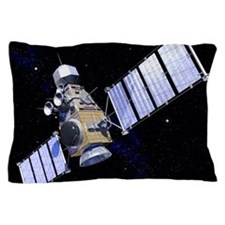 Military satellite Pillow Case