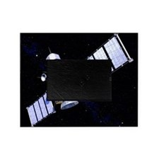 Military satellite Picture Frame