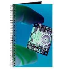 Miniature spy camera Journal