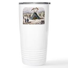 Military semaphore, 19th centur Travel Mug