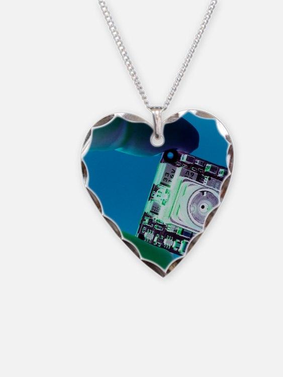 Miniature spy camera Necklace