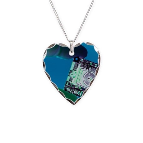 miniature spy camera necklace heart charm by admin_cp66866535