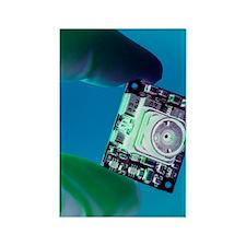 Miniature spy camera Rectangle Magnet