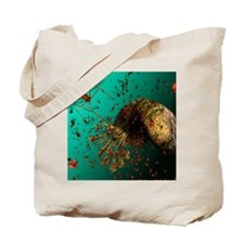 Bacteriophage viruses Tote Bag
