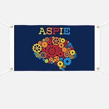 Aspie Brain Autism Banner