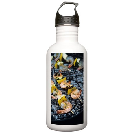 Barbeque Stainless Water Bottle 1.0L