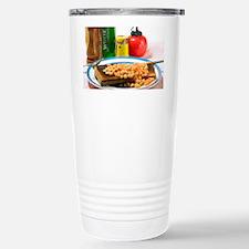 Baked beans on toast Travel Mug