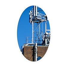 Mobile phone base station Oval Car Magnet