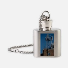Mobile phone base station Flask Necklace