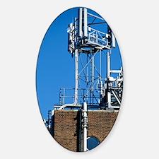 Mobile phone base station Sticker (Oval)