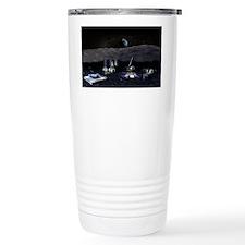 Moon base Travel Mug