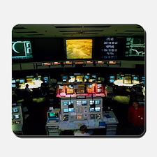 Mission Control at JPL, Pasadena, Califo Mousepad