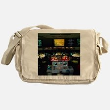 Mission Control at JPL, Pasadena, Ca Messenger Bag