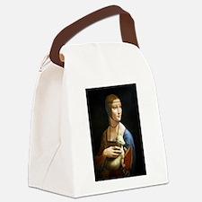 Lady With an Ermine - da Vinci Canvas Lunch Bag