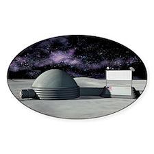 Moon base, artwork Decal