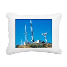 Mobile phone masts Rectangular Canvas Pillow