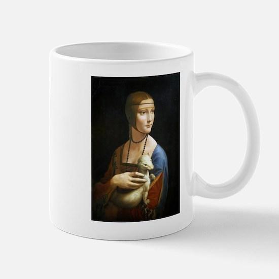 Lady With an Ermine - da Vinci Mug
