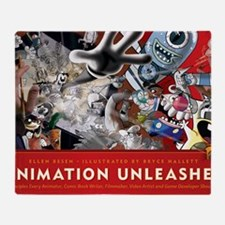 Animation Unleashed Throw Blanket