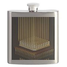 Microprocessor chip Flask