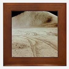 Moon landscape Framed Tile