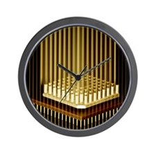 Microprocessor chip Wall Clock
