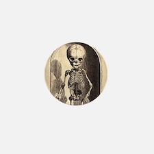 Skeletal Child Alcove Mini Button