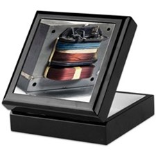 Microwave oven transformer Keepsake Box