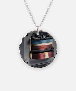Microwave oven transformer Necklace