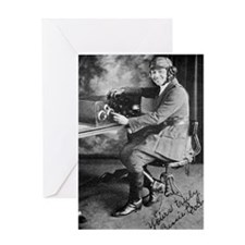 Bessie Coleman, US aviation pioneer Greeting Card