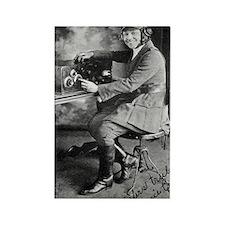 Bessie Coleman, US aviation pione Rectangle Magnet