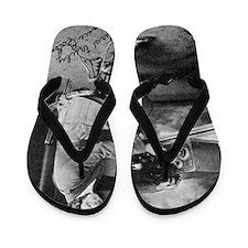 Bessie Coleman, US aviation pioneer Flip Flops