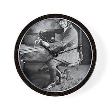 Bessie Coleman, US aviation pioneer Wall Clock