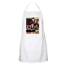 Bottles of wine Apron