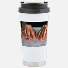 Braille Stainless Steel Travel Mug