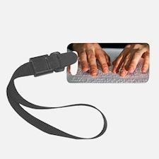 Braille Luggage Tag