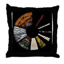 Biological collection Throw Pillow