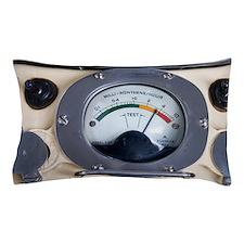 Military radiation meter Pillow Case