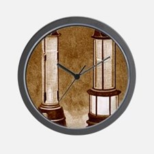 Miners' safety lamps Wall Clock