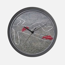 Body oultine Wall Clock