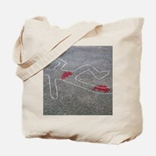 Body oultine Tote Bag