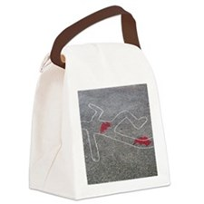 Body oultine Canvas Lunch Bag