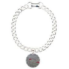 Body oultine Charm Bracelet, One Charm