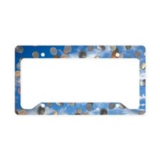 Money shower License Plate Holder
