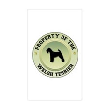 Welshie Property Rectangle Decal