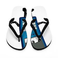 Mobile phone cartoon character Flip Flops