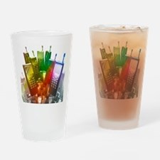 Mobile phones Drinking Glass