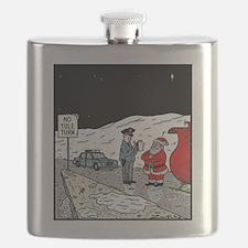 No Yule turn Flask