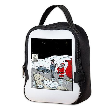 No Yule turn Neoprene Lunch Bag
