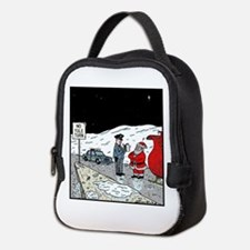 No Yule turn Neoprene Lunch Bag